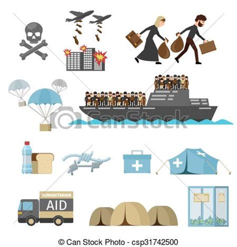refugee boat clipart vector clipart of war victims refugees war victims