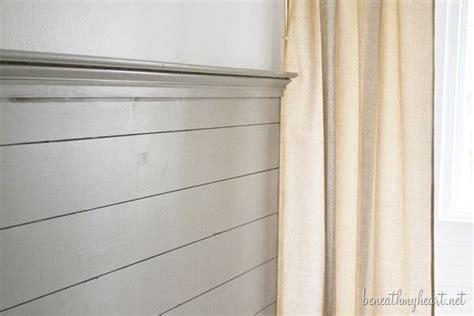 tongue and groove beadboard lowes guest bathroom makeover reveal exterior shutters the