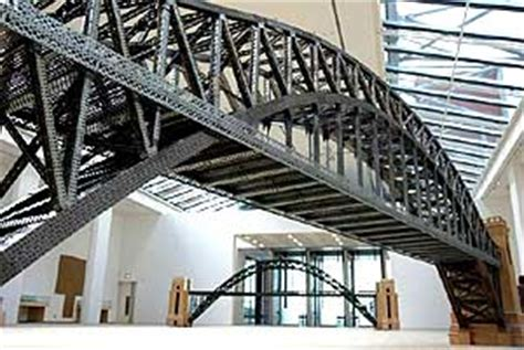 chris burden's meccano models of bridges from around the