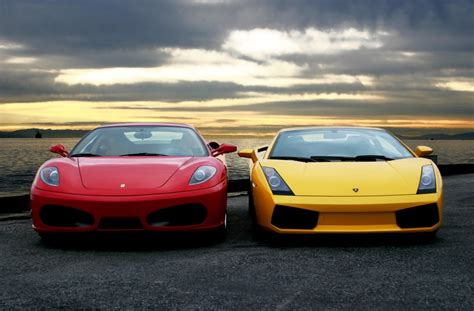 Fast Auto Ferrari Vs Lamborghini Whos The Top Car In The