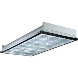 lithonia lighting 2 ft x 4 ft 3 light grid ceiling silver parabolic fluorescent troffer with