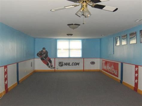 Hockey Room Louis Bedroom Playroom Ideas Pinterest Boys Hockey Room And Fan Blades