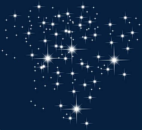 branco brilhante de estrelas   shining star stars