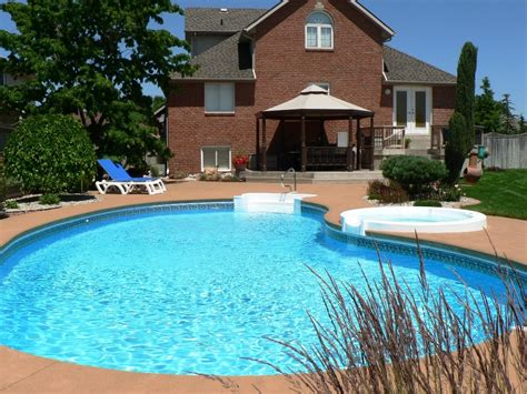 pool in backyard cost backyard pool cost home improvement 2017 above ground