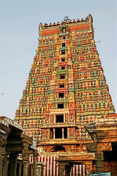 srivi gopuram  photo  tamil nadu south trekearth