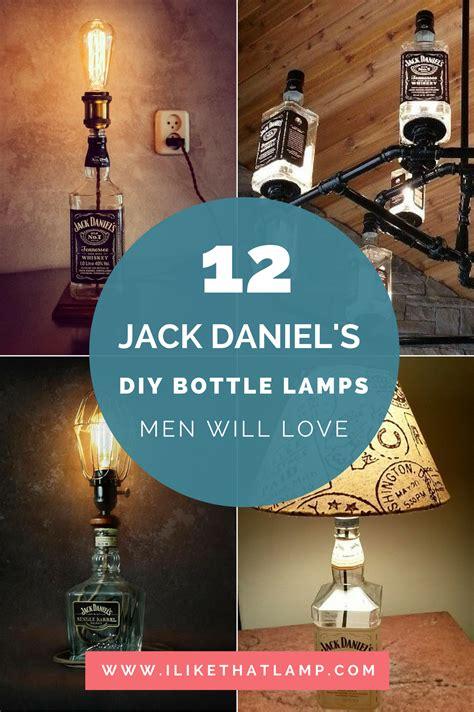 diy man cave lighting ideas jack daniels whiskey bottle