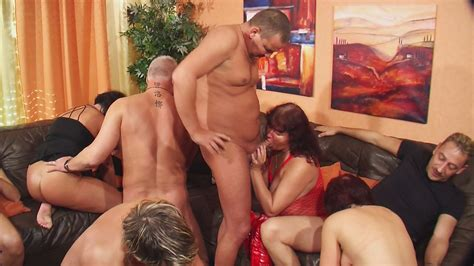 Naughty German Orgy With Hot Matures In Sexy Lingerie