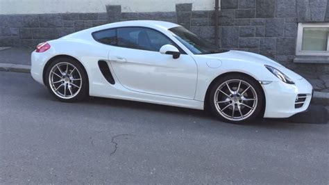 White Porsche by Porsche Cayman 981 White Walkaround