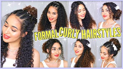 Prom Hairstyles For Naturally Curly Hair by 7 Best Curly Hairstyles For Prom Graduation Formals