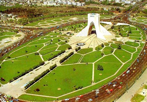 Home Plan Architects by Azadi Tower Iran Travel Guide