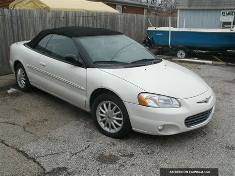 Chrysler Sebring 2001 Convertible by 2001 Chrysler Sebring Convertible Lxi