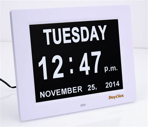 Calendar Clock Digital Calendar Day Clock 187 Gadget