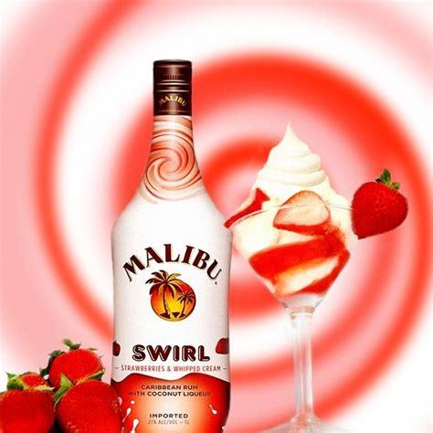 malibu swirl strawberries malibu rum products