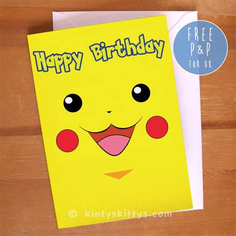 pikachu birthday card template pikachu birthday quotes quotesgram