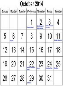 Calendar 2015 October India Calendar 2014 October And Restricted Holidays