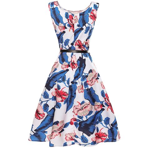 vintage of the 50s rockabilly 50s 60s rockabilly dress vintage floral swing pinup retro