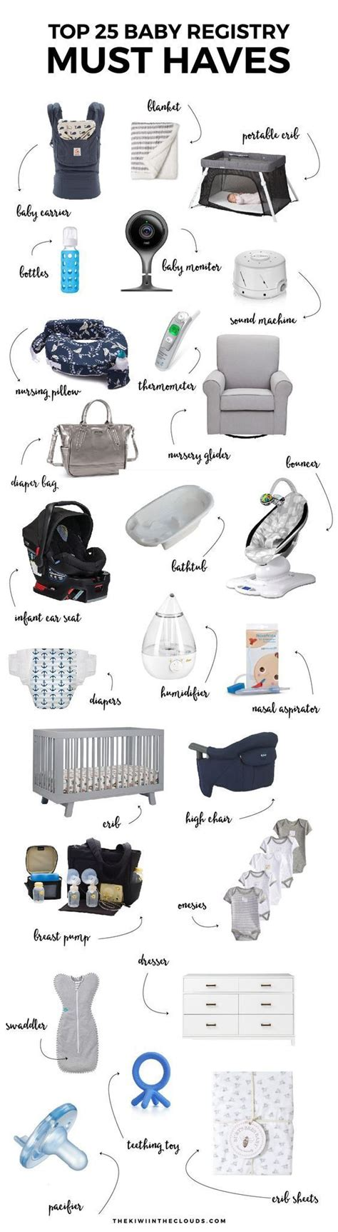 Things To Put On Baby Shower Registry by 25 Best Ideas About Baby Stuff On