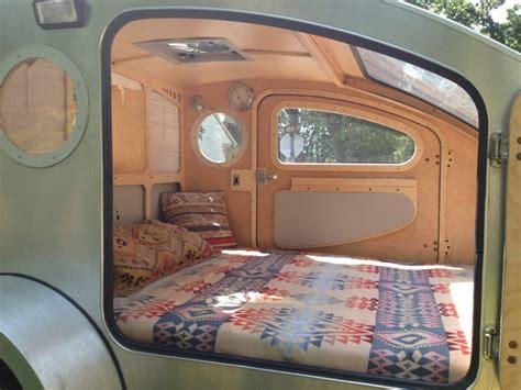 Camp Trailer Floor Plans by Tiny Yellow Teardrop Featured Teardrop Trailer Vistabule