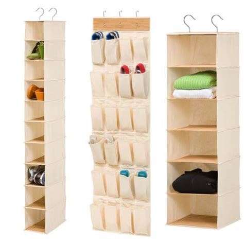 Canvas Closet Organizer by Stop A Mess In Your Closet Storage Organizers