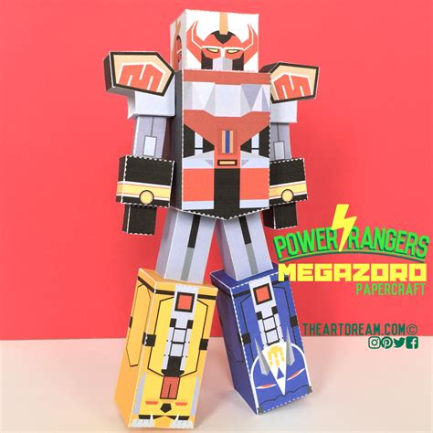 Power Ranger Papercraft - power rangers craft