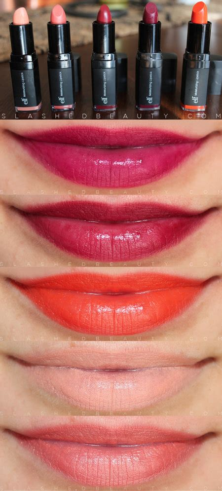 E L F Moisturizing Lipstick Orange e l f studio moisturizing lipsticks makeup bellashoot