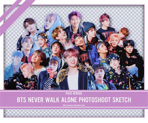 bts you never walk alone share render bts you never walk alone photoshoot by