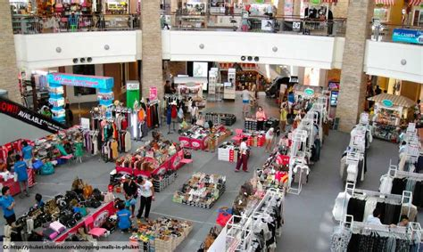 Do You Shop Outlet Malls by 5 Best Things To Do In Phuket Shopping Thing To Do In
