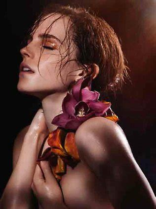harry potter star emma watson shows off her natural beauty