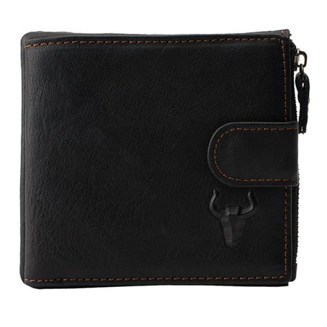 Genuine Leather Simple Wallet genuine leather wallet card holder pocket simple