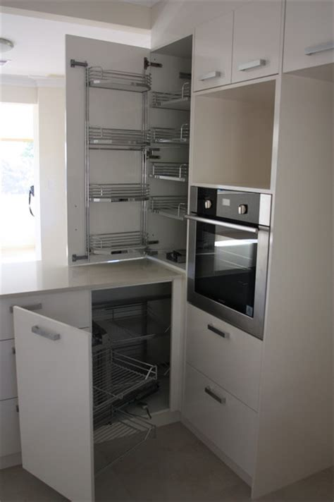 modern corner pantry with contemporary small drawers kitchen pantry systems