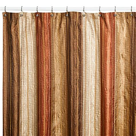 54 inch shower curtains buy manor hill 174 sierra copper 54 inch x 78 inch fabric