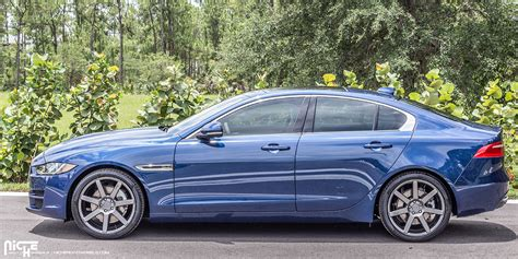 jaguars niche get stylin with this jaguar xe on niche wheels