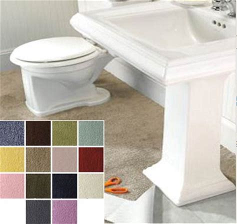 Cut To Fit Bathroom Rugs 5 Places To Buy Machine Washable Cut To Fit Plush Carpet For Your Bathroom Retro Renovation
