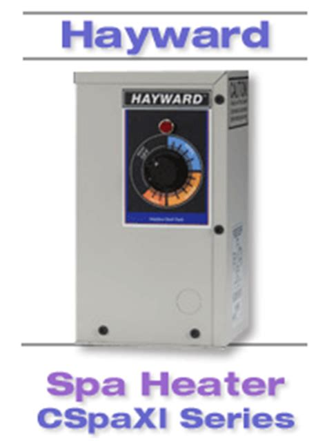 hayward electric heater cspaxi11 hayward electric spa heater cspaxi11