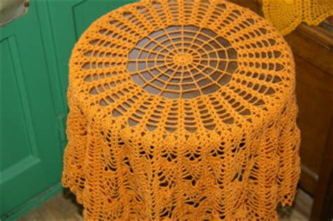 nappe ronde au crochet nappe au crochet nappe crochet nappe ronde au crochet aux ananas pour gu 233 ridon tutoriel