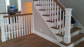 Diy Decoration escalier en bois franc escalier blanc gypse escalier