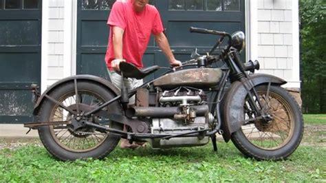 Motorrad Kaufen Alt by 1928 Henderson Deluxe Alt Und Mit Der Patina Des Alters
