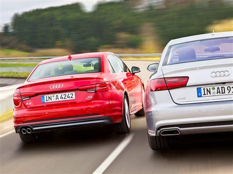 Autoversicherung Audi A4 by Audi A4 3 0 Tdi A6 3 0 Tdi Vergleich Autozeitung De
