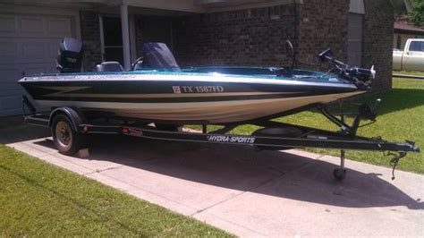 used bass boats for sale in texarkana hydra sports boats for sale
