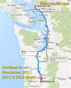 pacific coast road trip portland oregon to vancouver canada