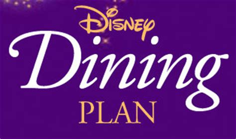 top 5 disney dining plan one credit table service values