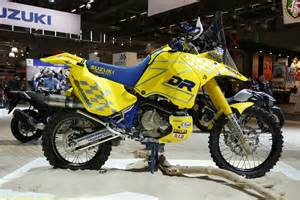 Suzuki Dakar Checkout This Historic Suzuki Dr Z Dakar Rally Race Bike