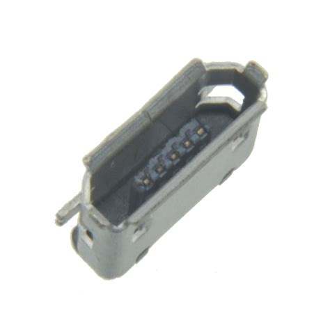 Smt Soket Micro Usb 5 Pin Konektor Tipe B 10pcs micro usb type b 5pin smt socket