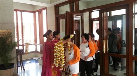 welcoming guests welcome guests picture of jaypee palace hotel