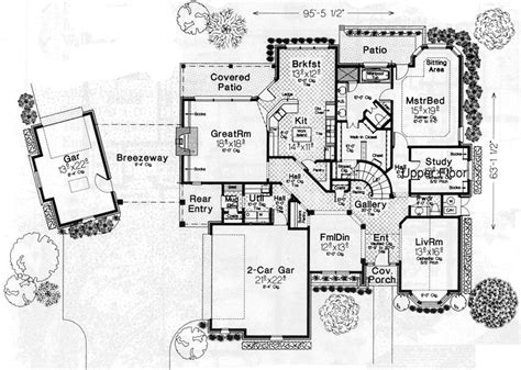 8 Bedroom House Floor Plans by Country House Plan 4 Bedrooms 3 Bath 3290 Sq Ft