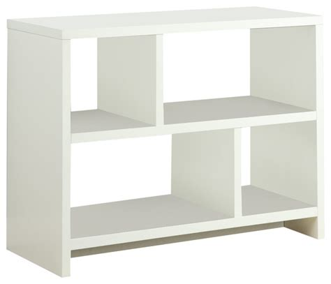 northfield console table bookcase white bookcases by