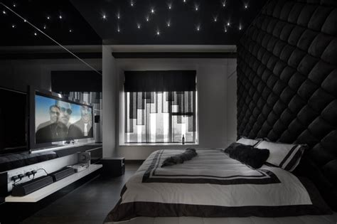 all black bedroom the metz contemporary bedroom singapore by the