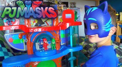 Spesial Mainan Edukasi Figur Pj Masks pj masks hq rescue new headquarters playset family gamer tv