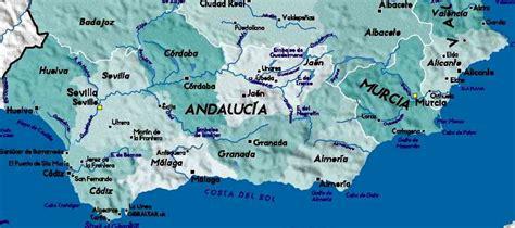 southern spain map southern spain map imsa kolese