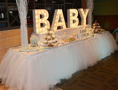 Shower Table Decorations by 31 Baby Shower Dessert Table D 233 Cor Ideas Digsdigs
